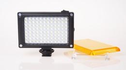 Wholesale Led Lighting Video - NEW High Quality 96 PCS LED Photo Lighting on Camera Video Hotshoe LED Lamp Lighting for Camcorder DSLR Wedding