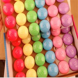 2019 brinquedo de bolhas soprando por atacado Atacado-3pcs feijão Ramen solo não-tóxico ambientalmente amigável soprando bolhas Ramen cor de cristal lama lama plasticina brinquedo aderência desconto brinquedo de bolhas soprando por atacado