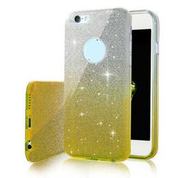 Canada La mode ultra mince changement progressif couleur cas de paillettes TPU doux Defender cas couvrir pour iPhone X 8 7 6 S 6 Plus Sumsung S8 S7 Plus Edge Note8 Offre