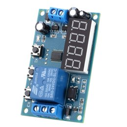 Wholesale Digital Timer Relay Switch - Multifunction 24V LED Home Automation Delay Timer Control Switch Relay Module Digital display