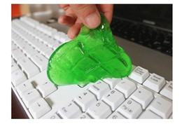 Wholesale Magic Cyber Clean - Practical Cyber Super Clean Magic Dust Cleaning Compound Slimy Gel Wiper For Keyboard Laptop H027