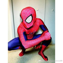 Wholesale Mascots Spiderman - Hot Sale New Arrival Spiderman Costumes Synthetic Mascot Costumes of Spiderman Super hero clothing most popular suit