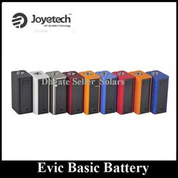 Wholesale Evic Original - Original Joyetech Evic Basic 40W Battery Box Mod 510 Thread 1500mAh with Oled Display Tiny Mod DHL Free Ship