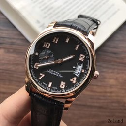 Wholesale First Stainless Steel - Swiss brand Men's Watches Double needle design 39mm High quality Fashion Watch Gentlemen first choice classic luxury brand watch Relogio