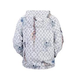 Wholesale Designer Mens Jacket - Hot designer Brand jacket windbreaker men Luxury fashion giraffe rhinoceros elephant print Thin mens jackets Palace streetwear coats for men