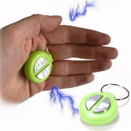 Wholesale Electric Shock Tricks - 2017 New Arrival Mini Gag Toy Play Joke Crack Prank Trick Party Novelty Electric Shock Hand Buzzer