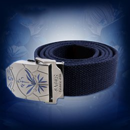Wholesale Saber Fate Zero - Fate Stay Night Zero Saber Blue Belt Waistband Cosplay Party Gift