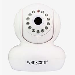 Wholesale Wanscam Wifi Camera - Wanscam HW0021 1.0MP 720P Wireless Ip Camera WI-FI Infrared Pan tilt Security Camera Wifi Camera Night Vision TF Card Slot