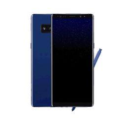 Wholesale Goophone Models - black 5.8inch Goophone S8+ S8 Plus EDGE MTK6580 Quad core Show Octa Core 1G 4 8GB show64 128GB LTE Multiple models Smartphone Sealed box