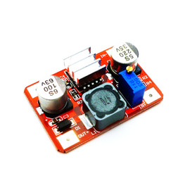 Wholesale High Voltage Modules - LM2577 red high voltage DC boost module IN3.5-35V OUT5-56V with indicator Wholesale Free shipping