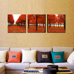 Wholesale Precision Painting - 3 Panel Luck Precision Printing Mangrove Sharp Scenery on Canvas Wall Art for Home Office Decorations Wall Decor