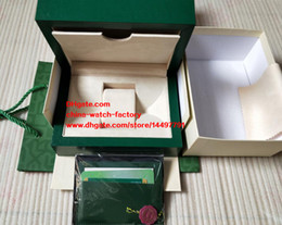 Wholesale Luxury Papers - High Quality Green Brand Watch Original Box Papers Handbag Gift Boxes Used 116500 116610 116660 116710 116655 Swiss ETA 3135 7750 Watches