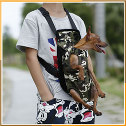 Wholesale Classic Lighting Products - Pet Bag Dog Supplies Cat Carrier Five Holes Backpack Front Chest Backpack Pink Light Blue Black Pet Products