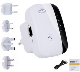 Wholesale Vpn Wireless - Wireless Wifi Repeater 300Mbps Extender IEEE 802.11n b g Network Router Range Booster