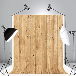 Wholesale Vintage Photography Backdrops - Kate 6.5x10ft Vintage Wood Photography Backdrops Texture Photo Background Customized Seamless Photo Booth Prop J03997