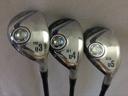 """Wholesale Rescue Clubs - Golf XXIO9 MP900 Hybrids Rescues 19 21 23"""" R S Come Headcover XX10 mp900 Golf Clubs Hybrid Rescue"""
