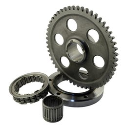 Wholesale Motorcycle Part Cdi - Motorcycle Starter Clutch Gear Assy Bearing and gear For Yamaha Raptor 660R YFM660R 2001-2003 Motocross Engine Parts