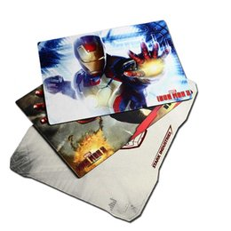 Wholesale Blue Rest - E-3lue computer game E-3lue E-Blue Cool Iron Man 3 Gaming Mouse Pad Three Kinds to Choose HOT fresh