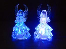 Décorations De Noël Saint Valentin Lumière De Mariage Cadeau De Noël Lumière Belle Créative Couleur Changeante Petit Ange LED Veilleuse Lampe ? partir de fabricateur