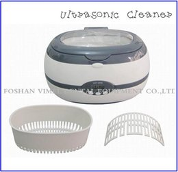 Wholesale Minutes Tattoo - Free Shipping 1pc Ultrasonic Cleaner VGT-800 For Jewellery Watch Glasses Tattoo Cleaning 600ml
