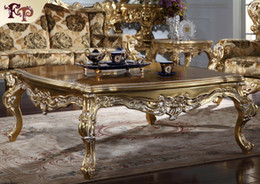 Wholesale Antique French Sofa - Antique furniture manufacturer-French classic coffee table - Luxury high end villa furniture