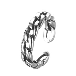 Wholesale Silver Male Wedding Ring - 5pcs lot Gothic 925 Sterling Silver Biker Rings for Men Brand Jewelry Adjustable Male Ring Birthday Gift Alibaba Retail Store