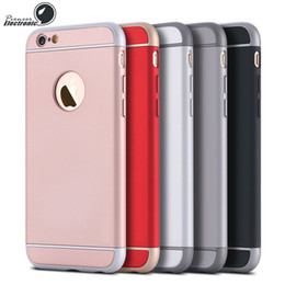 Wholesale Thin Hard Plastic Case - For iPhone X 8 7 6 6S Plus Cases Ultra-thin Luxury Shockproof 3 in 1 Armor Snak Hard Back Case Cover For Samsung S7 iphone 7 plus 7plus