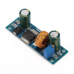 Wholesale Dc Adjustable - DC Step Down Converter DC 4.5~30V to 0.8~30V 5A Adjustable Voltage Regulator DIY Buck laptop Power Supply   Power Adapter