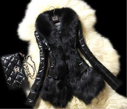 Wholesale Ladies Fur Coats Wholesale - Winter New Fashion women Shitsuke Clothes Fur collar coat sheepskin lose weight Medium style lady Slim Sheep's wool DHL FREE GIFT