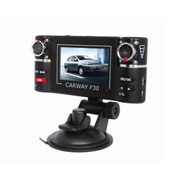 Wholesale Hd Vehicle Dvr Camera - S5Q HD Car DVR Camera Vehicle DVR Dual Lens Dash Cam Video Recorder Night Vision SOS AAADKL