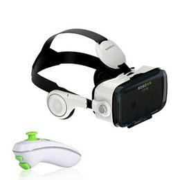 Wholesale Headset Video Games - New Xiaozhai BOBOVR Z4 3D VR Virtual Reality Headset 3D Video Game Private Theater with Headphone + Original Bluetooth controller