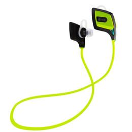 Wholesale Photo Wires - 8 Photos Land Intelligent O2 Wireless Sports Earphone Bluetooth V4.1 CSR Headphone Sweatproof Voice Prompt Handfree w Mic for iPhone Sam