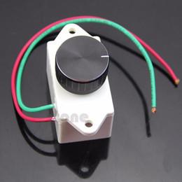Wholesale Electronic Speed Controls - Wholesale- J34 AC 220V 500W Electronic Motor Speed Control controller Switch Regulation