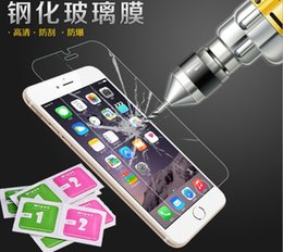 Wholesale Iphone C Screen Protector - Wholesale-0.26mm for iPhone 5 tempered glass for iPhone 4 5 6 c s Plus screen protector for iPhone 5S tempered protective film