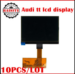 Wholesale New Engine Wholesale - Free shipping 10pcs lot New Arrive for audi tt lcd display .For audi A3 A4 A6 Jaeger, audi TT Jaeger dashboards lcd display