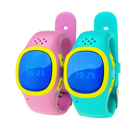 Wholesale Emergency Calling - Wholesale- Kids Wrist Watch SOS Emergency Anti Lost GPS Tracker Watch For Kids with Wifi GSM Smart Mobile Phone App Bracelet Wristband