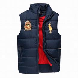 Wholesale Polo Vest Xl Black - 2017 Cheap Wholesale Price New Arrival Men's Polo Vest Waistcoat Copernic Coffee Black Gray Cotton Autumn Jacket down coat free shipping