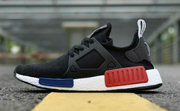 Wholesale Lace Linens - 2017 High Quality NMD XR1 Runner Primeknit mens running shoes Duck Camo Core Black Linen sport shoes Originals NMD XR1 sneakers EUR 36-45