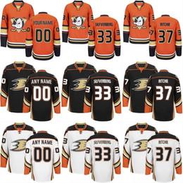 2e0e20f1a Anaheim Ducks Jersey 67 Rickard Rakell 50 Antoine Vermette 22 Dennis  Rasmussen 37 Nick Ritchie Mens Womens Youth Custom Hockey Jerseys Cheap