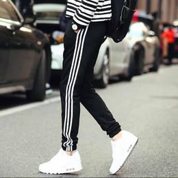 Wholesale Elastic Waist Harem Pants - Wholesale-Harem Pants New Style Fashion 2016 Casual Skinny Sweatpants Sport Pants Trousers Drop Crotch Jogging Pants Men Joggers