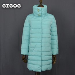Wholesale Black Collection Clothing - Wholesale-2016 New Winter jacket Women Clothes Collection Female Parka Medium Length High Collar Jacket with crystal European Style Coat