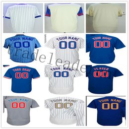 Wholesale bank black - Custom Chicago Javier Baez Kyle Schwarber Ernie Banks Anthony Rizzo Sammy Sosa Russell Zobrist Heyward Ron Santo Baseball Jersey