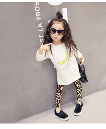 Wholesale Skirts Leggings Leopard - 2016 New Fashion Baby Girls Leopard Leggings Kids Casual Long Pencil Pants Tight Dresses Leggings Boot Children Skirts Legging