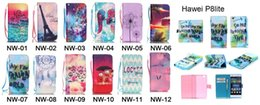 Wholesale Galaxy S3 Silicone Flip - Strap Sea Tower Flower Flip Wallet Leather Case For Samsung Galaxy NOTE4 NOTE5 S4 S5 S3 Mini Huawei P8 Lite Card Stand Pouch TPU Phone Cover