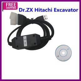 Wholesale Excavator Diagnostic - Top Quality Dr.ZX Hitachi Excavator Diagnostic Tool V2011A Free Shipping