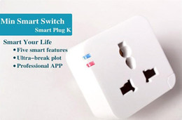 WiFi Wireless Smart Power Socket Cell Phone Repetidor de Control remoto Plug Free ShippingWholesales caliente nuevo desde fabricantes