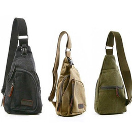 Wholesale Military Canvas Messenger Bag - Womens Fashion shoulder bags Ladies Gifts Canvas Retro Handbag Messenger Shoulder Sling Military C00448 SPDH