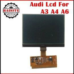 Wholesale A6 Lcd Display - Free shipping 2017 Big Promotion New VDO LCD Display for Audi A3 A4 A6 for VW for audi lcd vdo display with high quality