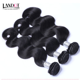Wholesale Cheap Peruvian Body Wave Weave - Brazilian Body Wave Virgin Hair Cheap Peruvian Indian Malaysian Cambodian Human Hair Weave 3 4 Bundles Natural Black 1B Remy Hair Extensions