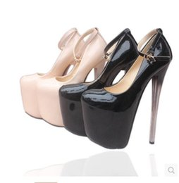 Wholesale Elegant High Heels For Women - Luxury Gold Strap Ballroom Dance Shoes High Heels 2018 New Sandals For Women black Heels Elegant Wedding Bridal Shoes size 34 to 43